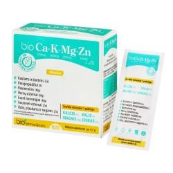 bioCa+K+Mg+Zn su vitaminu D3 milteliai, N28