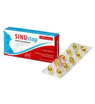 Biofarmacija SinuSTOP caps, N20   elvaistine.lt