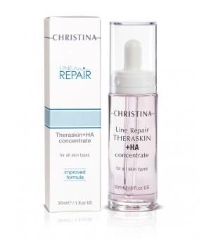 Christina Line Repair Theraskin+ HA Concentrate Regeneruojantis drėkinamasis serumas, 30 ml | elvaistine.lt