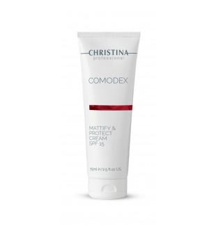 Christina Comodex Mattify & Protect Cream Apsauginis kremas SPF 15, 75ml   elvaistine.lt
