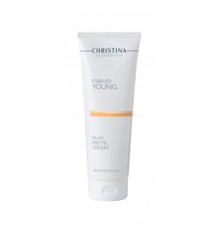 Christina Forever Young Silky Matte Cream Drėkinantis, atjauninantis kremas kūnui, 250 ml | elvaistine.lt
