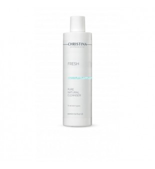 Christina Fresh Pure & Natural Cleanser Gelinis veido prausiklis, 300ml | elvaistine.lt