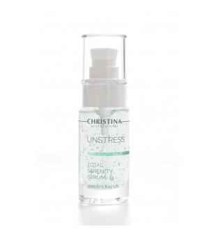 Christina Unstress Total Serenity Serum Raminantis serumas, 30 ml | elvaistine.lt