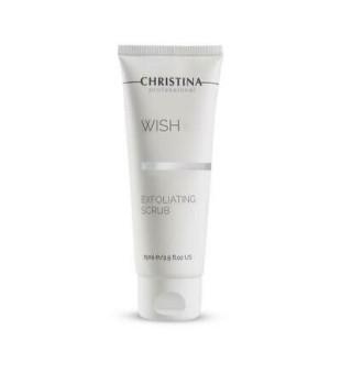 Christina Wish Exfoliating scrub Veido švetiklis, 75 ml   elvaistine.lt