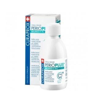 Curaprox Perio Plus + Balance Oral Rinse Burnos skalavimo skystis, 200ml   elvaistine.lt