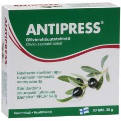 Alyvmedžio lapų ekstraktas - Antipress tab N60