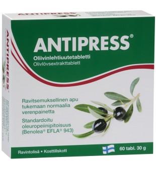 Hankintatukku Alyvmedžio lapų ekstraktas - Antipress tab N60 | elvaistine.lt