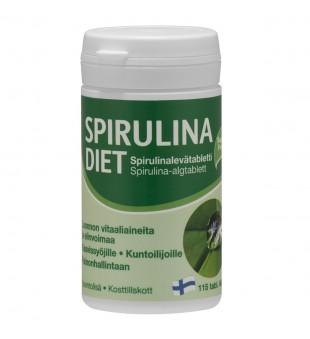 Hankintatukku Spirulina diet, N115 | elvaistine.lt
