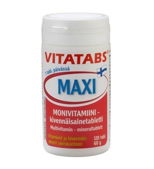 Hankintatukku Vitatabs Maxi, N120   elvaistine.lt