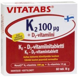 Vitatabs K2+D3 tab N60