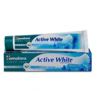 Himalaya Herbals Dantų pasta Active White, 75ml | elvaistine.lt