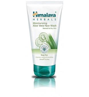 Himalaya Herbals Himalaya Herbals drėkinamasis veido prausiklis su alaviju 150ml | elvaistine.lt
