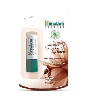 Himalaya Herbals Intensyviai drėkinantis balzamas lūpoms su kakavos sviestu 4,5g | elvaistine.lt