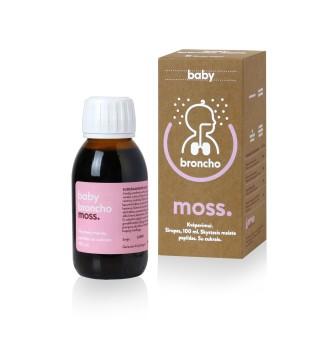 Innovative Pharma Baltics BronchoMoss BABY sirupas, 100 ml | elvaistine.lt