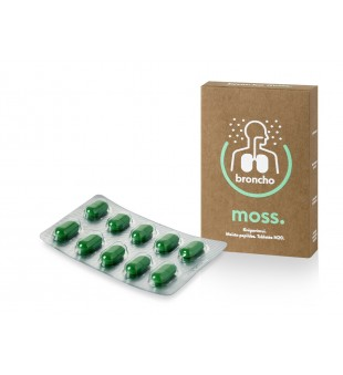 Innovative Pharma Baltics BronchoMoss tabletės N20 | elvaistine.lt