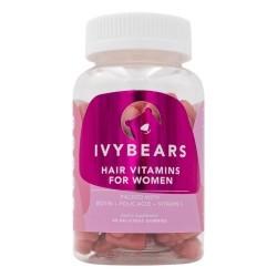 IvyBears Plaukų augimą skatinantys vitaminai moterims, 60 guminukų