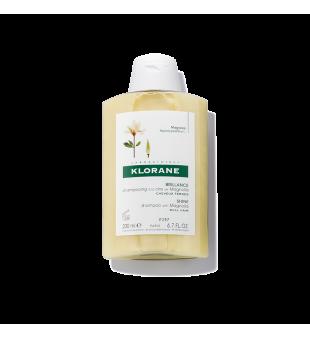 Klorane Blizgesio suteikiantis šampūnas su magnolijos vaško ekstraktu, 200ml | elvaistine.lt