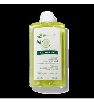 Klorane Šampūnas su citrinų ekstraktu, 400ml   elvaistine.lt