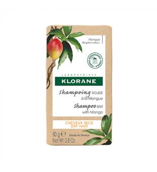 Klorane Kietasis šampūnas su mango sviestu, 80g | elvaistine.lt
