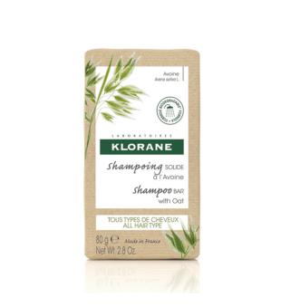 Klorane Kietasis šampūnas su avižų ekstraktu, 80g | elvaistine.lt
