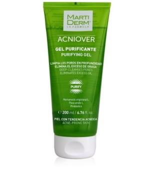 MartiDerm MartiDerm ACNIOVER Purifying Gel Valomasis gelis į aknę linkusiai odai, 200ml | elvaistine.lt