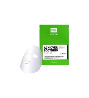 MartiDerm MartiDerm ACNIOVER Soothing Mask Raminamoji kaukė į aknę linkusiai veido odai, 1vnt | elvaistine.lt