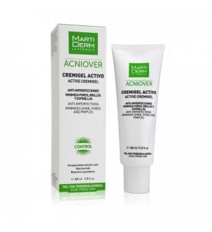 MartiDerm MartiDerm ACNIOVER Cream-Gel Aktyvus kremas-gelis į aknę linkusiai odai, 40ml | elvaistine.lt