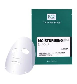 MartiDerm MartiDerm Moisturizing Mask Drėkinamoji veido kaukė, 1vnt | elvaistine.lt