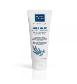 MartiDerm MartiDerm Pure Mask Baltojo molio kaukė veidui, 75ml   elvaistine.lt