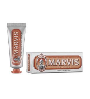 Marvis Ginger Mint Imbiero ir mėtų skonio dantų pasta, 25ml | elvaistine.lt