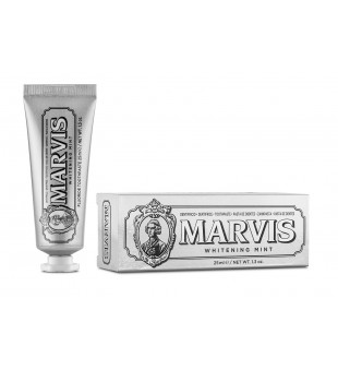 Marvis Whitening Mint Balinanti mėtų skonio dantų pasta, 25 ml   elvaistine.lt