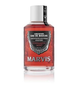 Marvis Cinnamon Mint Mouthwash Cinamono ir mėtų skonio burnos skalavimo skystis, 120ml | elvaistine.lt