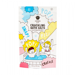 Blue Crackling Bath Salts Spragsinti vonios druska, 60g