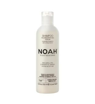 Noah 1.1. Šampūnas riebiems ir ploniems plaukams, 250ml | elvaistine.lt