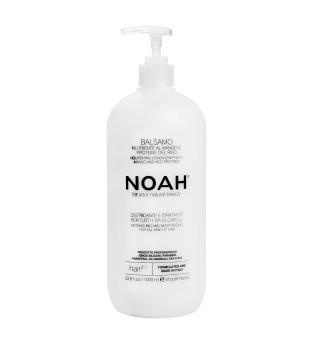 Noah 2.1. Maitinamasis balzamas lengvinantis plaukų iššukavimą, 1000ml | elvaistine.lt