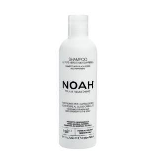 Noah 1.7. Plaukus stiprinantis šampūnas silpniems, slenkantiems plaukams 250ml | elvaistine.lt