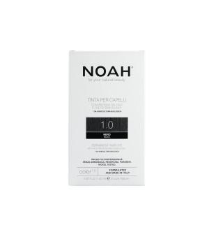 Noah Ilgalaikiai plaukų dažai - 1.0 Black, 140ml | elvaistine.lt