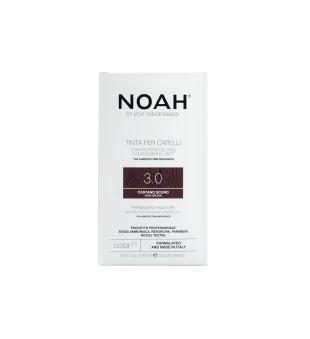 Noah Ilgalaikiai plaukų dažai - 3.0 Dark Brown, 140ml | elvaistine.lt