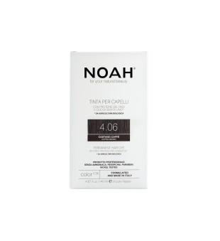 Noah Ilgalaikiai plaukų dažai - 4.06 Coffee Brown, 140ml | elvaistine.lt
