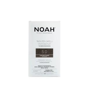 Noah Ilgalaikiai plaukų dažai - 5.0 Light Brown, 140ml   elvaistine.lt