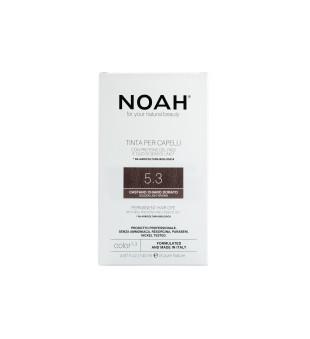 Noah Ilgalaikiai plaukų dažai - 5.3 Golden Light Brown, 140ml | elvaistine.lt