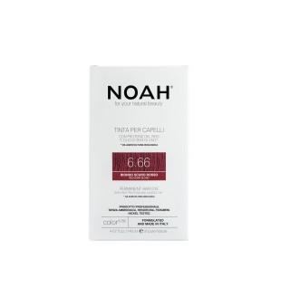 Noah Ilgalaikiai plaukų dažai - 6.66 Red Dark Blond, 140ml   elvaistine.lt