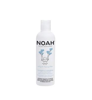 Noah Vaikiškas maitinamasis šampūnas su pienu ir cukrumi dažnam naudojimui, 250ml | elvaistine.lt