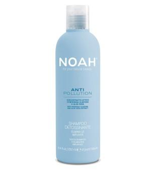 Noah Anti Pollution Apsauginis šampūnas su alijošiaus ir aliejinės moringos ekstraktais, 250ml | elvaistine.lt