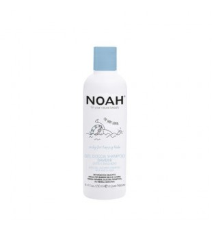 Noah Dušo gelis ir šampūnas viename su pienu ir cukrumi vaikams, 250ml   elvaistine.lt