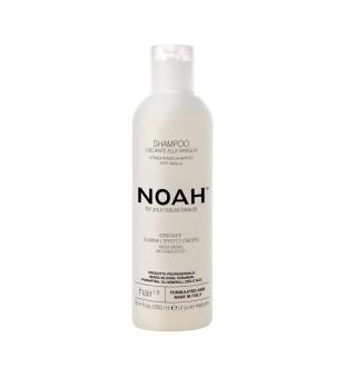 Noah 1.8 Straightening Shampoo With Vanilla Tiesinamasis šampūnas su vanile, 250ml | elvaistine.lt
