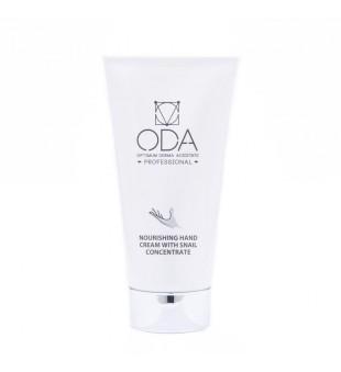 ODA ODA Nourishing Hand Cream With Snail Concentrate Maitinantis rankų kremas su sraigių ekstraktu, 50ml   elvaistine.lt
