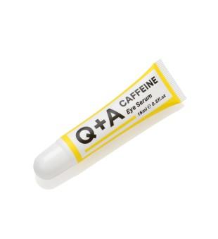 Q+A Caffeine Eye Serum Paakių serumas su kofeinu, 15ml   elvaistine.lt