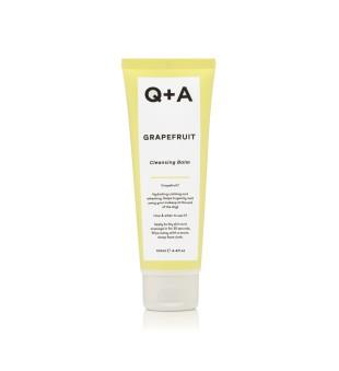 Q+A Grapefruit Cleansing Balm Valomasis veido balzamas, 125ml   elvaistine.lt