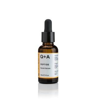 Q+A Peptide Facial Serum Veido serumas su peptidais, 30ml | elvaistine.lt